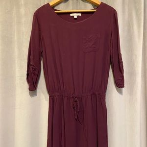 Banana Republic Casual Half-Sleeve Dress